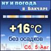 Ну и погода в Бакчаре - Поминутный прогноз погоды